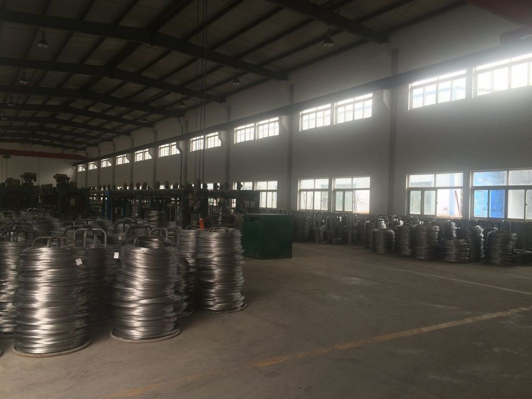 Stainless Steel Hydrogen Annealed Wire Customized For Architectural Decoration