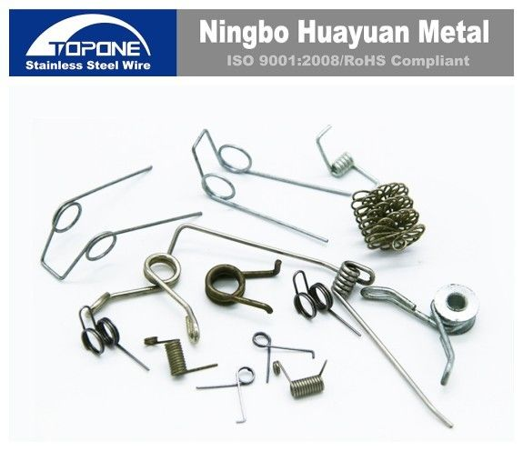 Customized Stainless Steel Wire Forming Stainless Steel Wire Clip High Flexibility