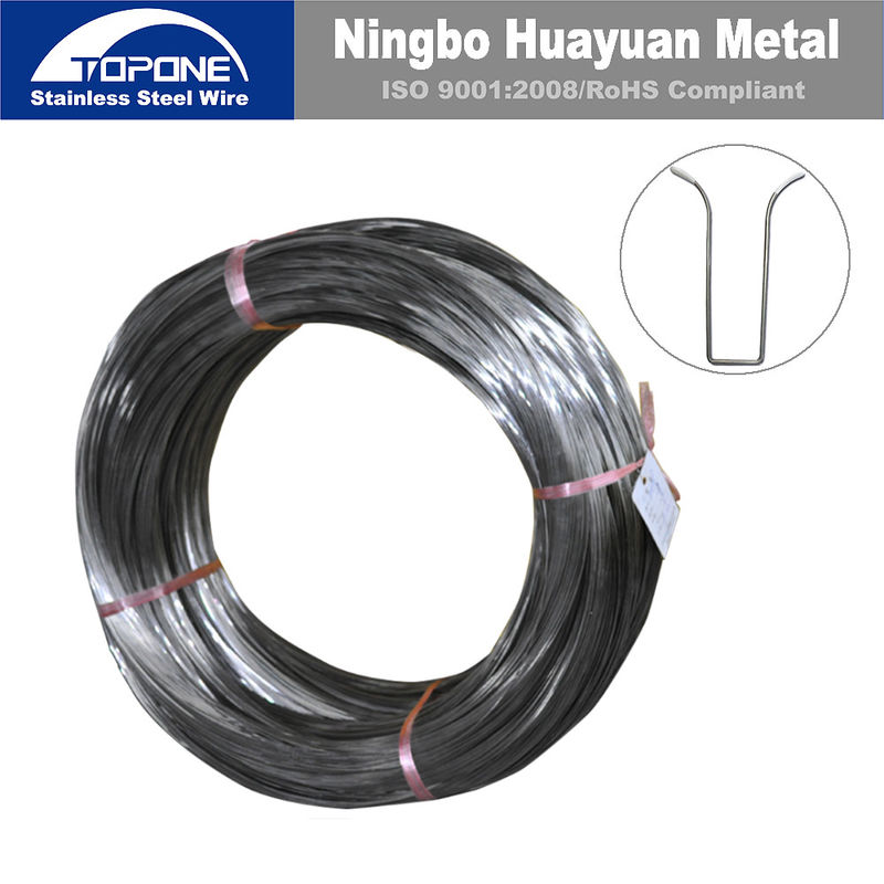 Industrial Stainless Steel Spring Wire For Bra / Bra Wire Anti Corrosion